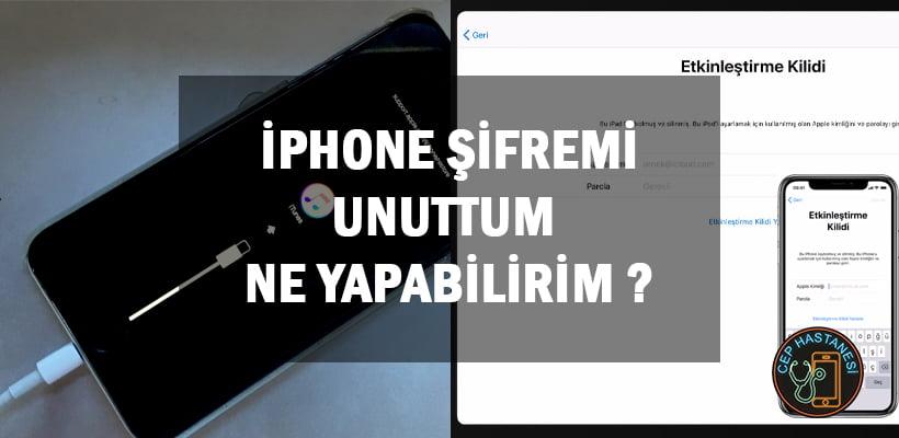 iPhone Şifremi Unuttum Ne Yapabilirim