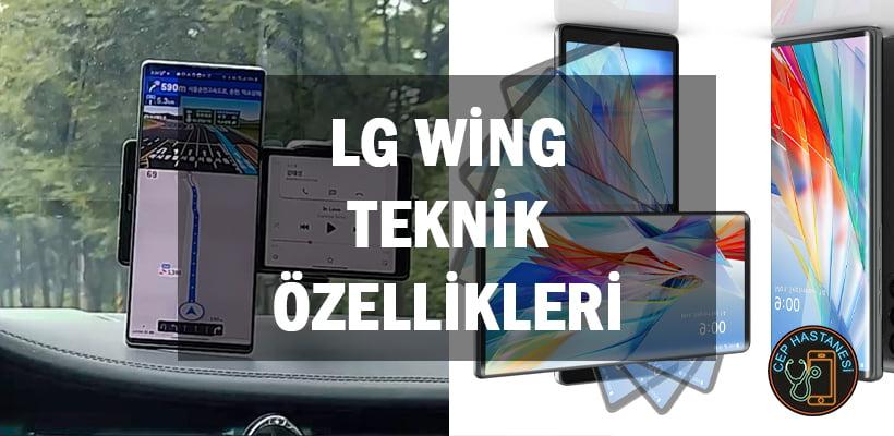 Lg Wing Teknik Özellikleri