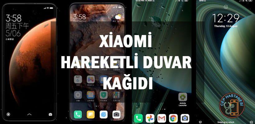 Xiaomi Hareketli Duvar Kağıdı