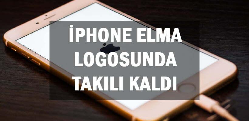 İPhone Elma Logosunda Takılı Kaldı
