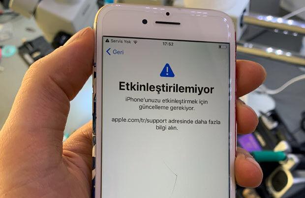 iPhone 7 Servis Yok Sorunu