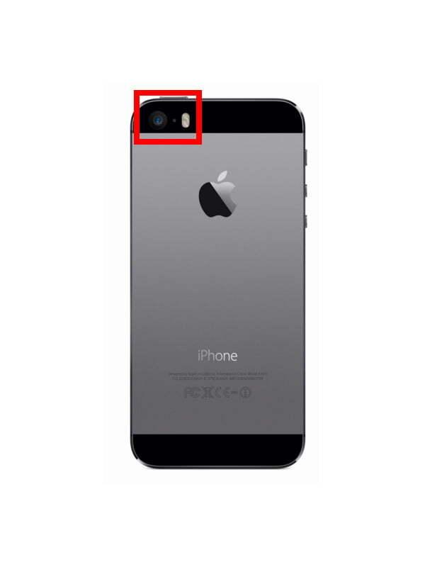 Iphone 5S Kamera Camı Değişimi